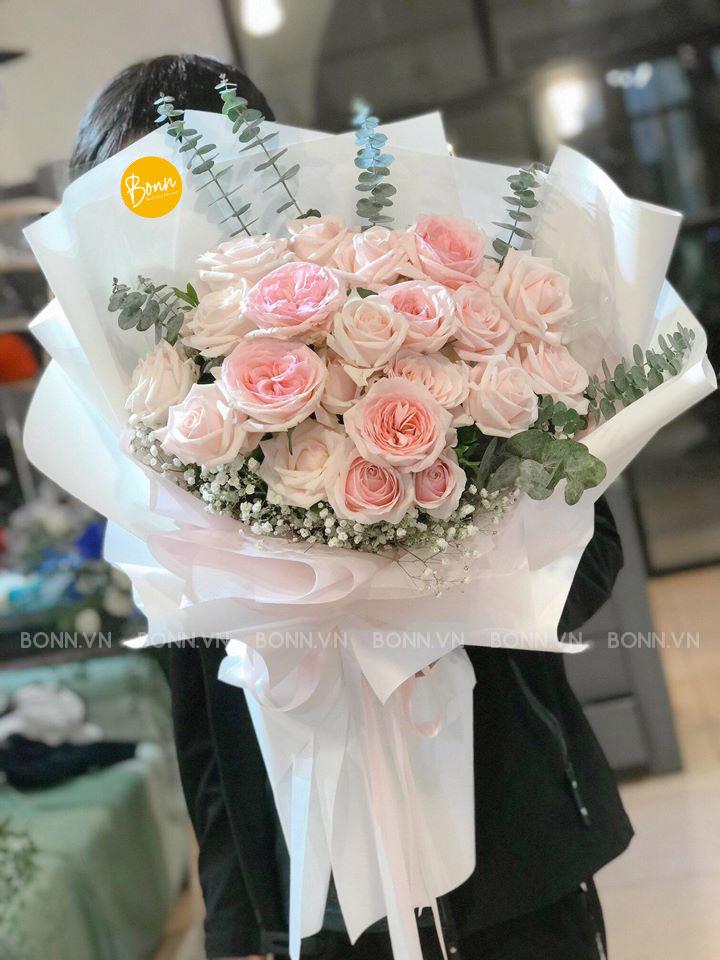 bo hoa dep tone pastel