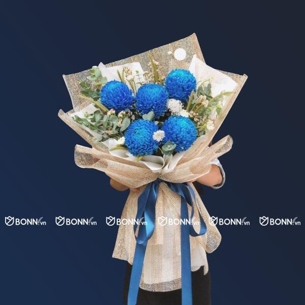 bo hoa cuc mau don min