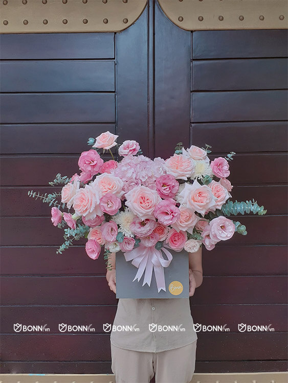 lang hoa dep hong ohara nhap khau