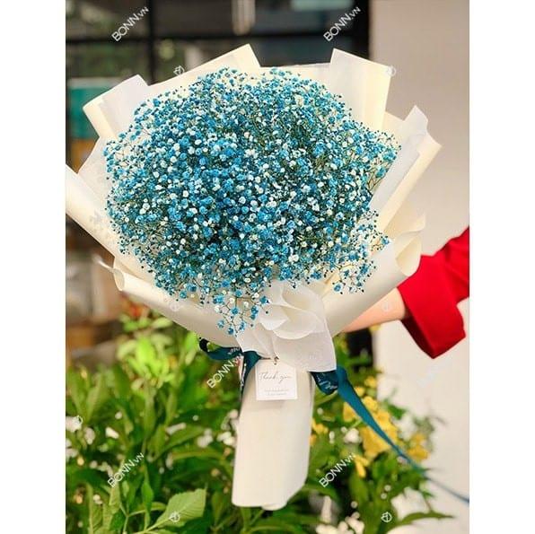 bo hoa baby xanh gia re