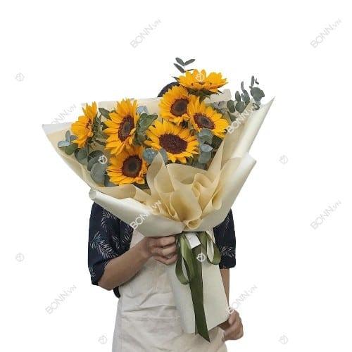 bo hoa huong duong dep nhat 1