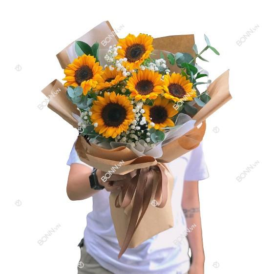 bo hoa huong duong dep nhat