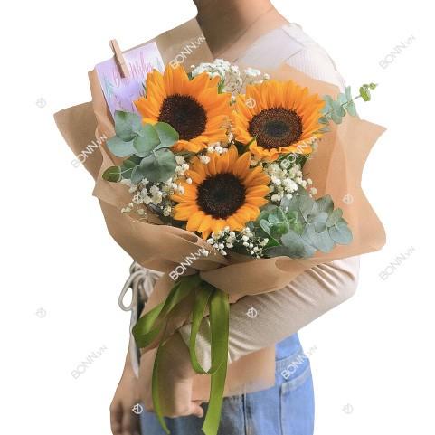 bo hoa huong duong gia re
